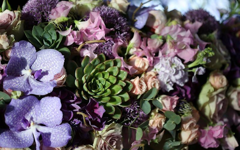 Brides spend an average of £550 on their wedding flowers