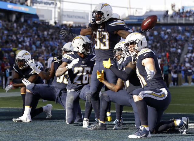 Tre Boston (with ball, center) is headed to Arizona after a career year in Los Angeles. (AP Photo/Alex Gallardo)