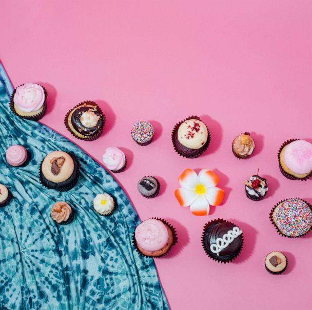 PHOTO: Small cakes from Dessert Goals festival in Los Angeles. (Sarah Winona Photography)