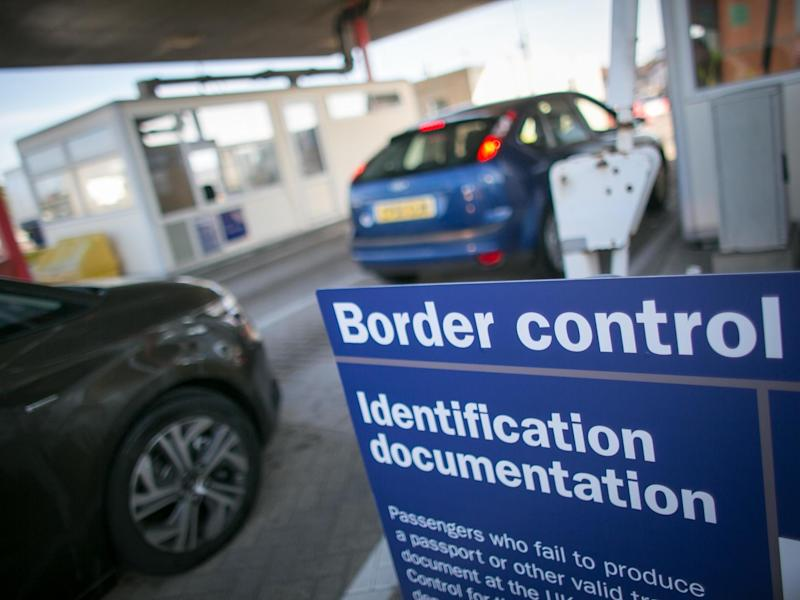 UK border control: Getty Images