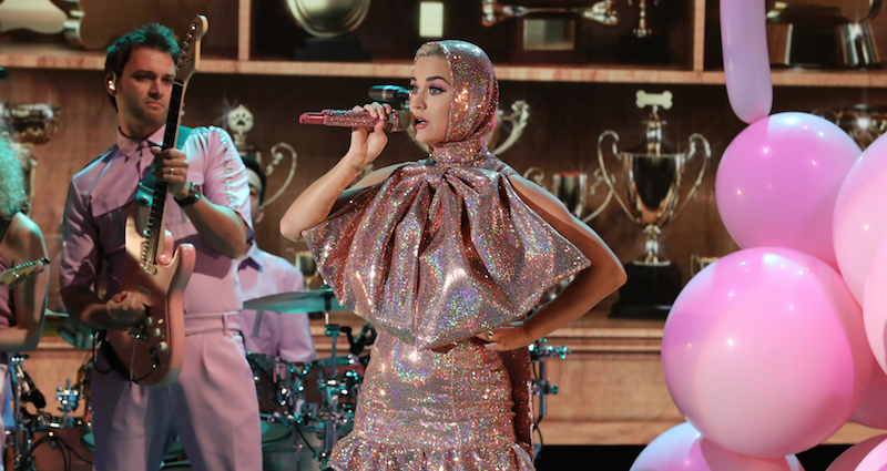 """Katy Perry performs """"Small Talk"""", discusses Taylor Swift beef on Ellen: Watch"""