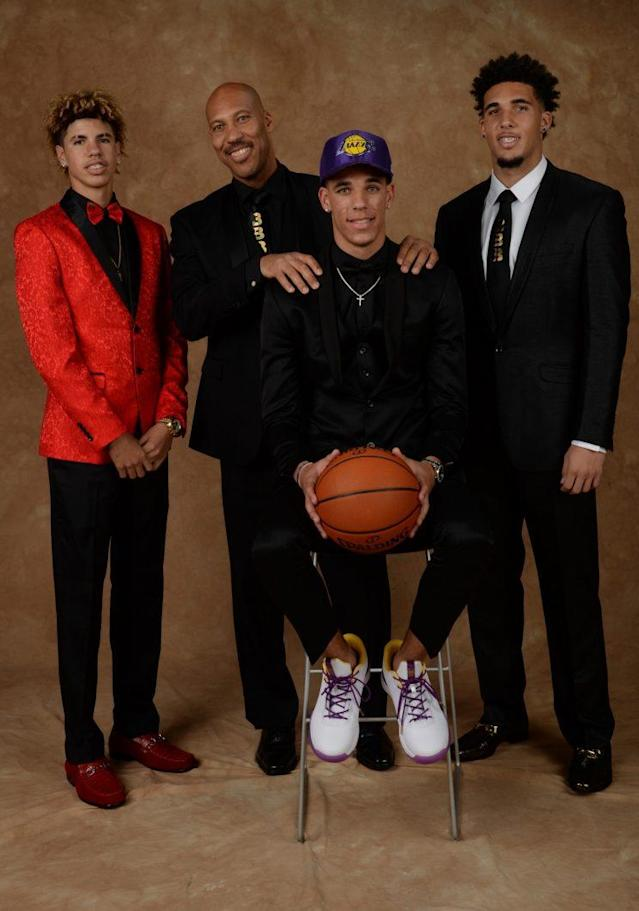 The Ball family isn't going away any time soon. (Getty)