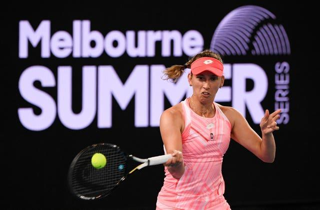 Elise Mertens faces an up-and-coming talent