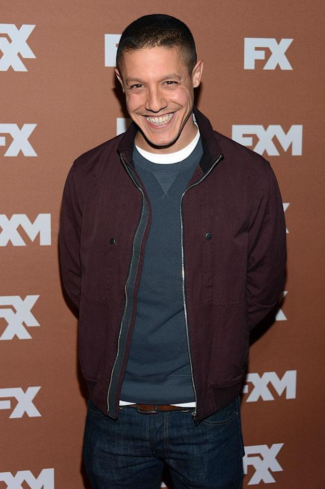 Theo Rossi attends the 2013 FX Upfront Bowling Event at Luxe at Lucky Strike Lanes on March 28, 2013 in New York City.