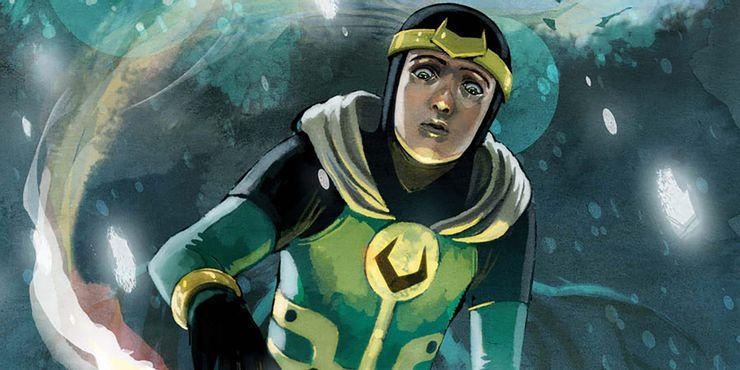 The young Kid Loki, as he appears in the pages of Marvel Comics.