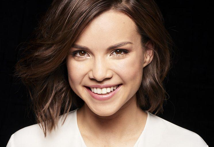 Ingrid Nilsen as the face of bareMinerals. (Photo: bareMinerals)