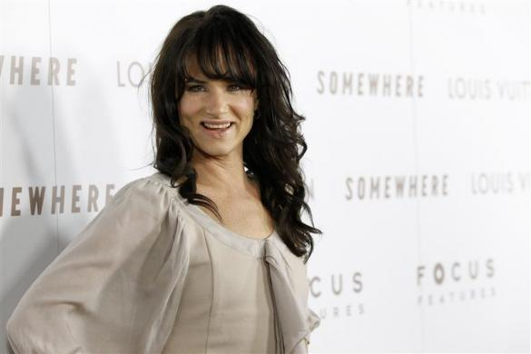 "Actress Juliette Lewis poses at the premiere of ""Somewhere"" at the Arclight theatre in Hollywood, California December 7, 2010."