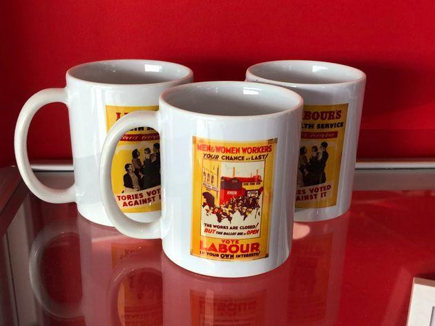 Mugs on sale at Labour Party conference 2021 (Photo: HuffPost UK)