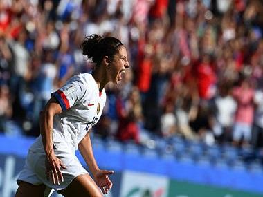 FIFA Women's World Cup 2019: Title holders USA seal last-16 berth courtesy Carli Lloyd's heroics against hapless Chile
