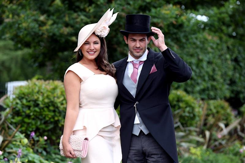 No wedding bells: Kelly Brook and Jeremy Parisi: Jonathan Brady/PA