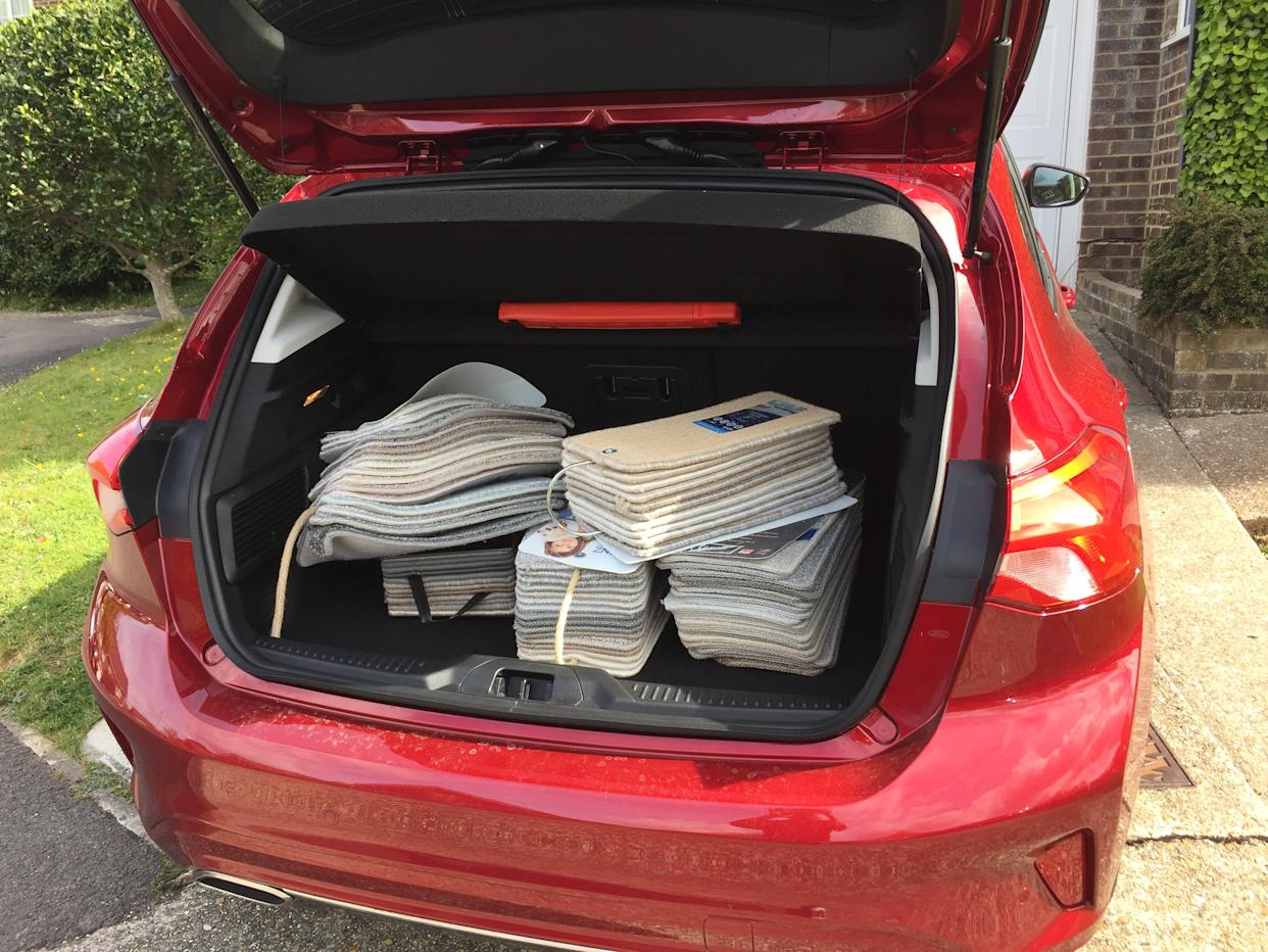 The Focus' spacious boot has helped on numerous occasions