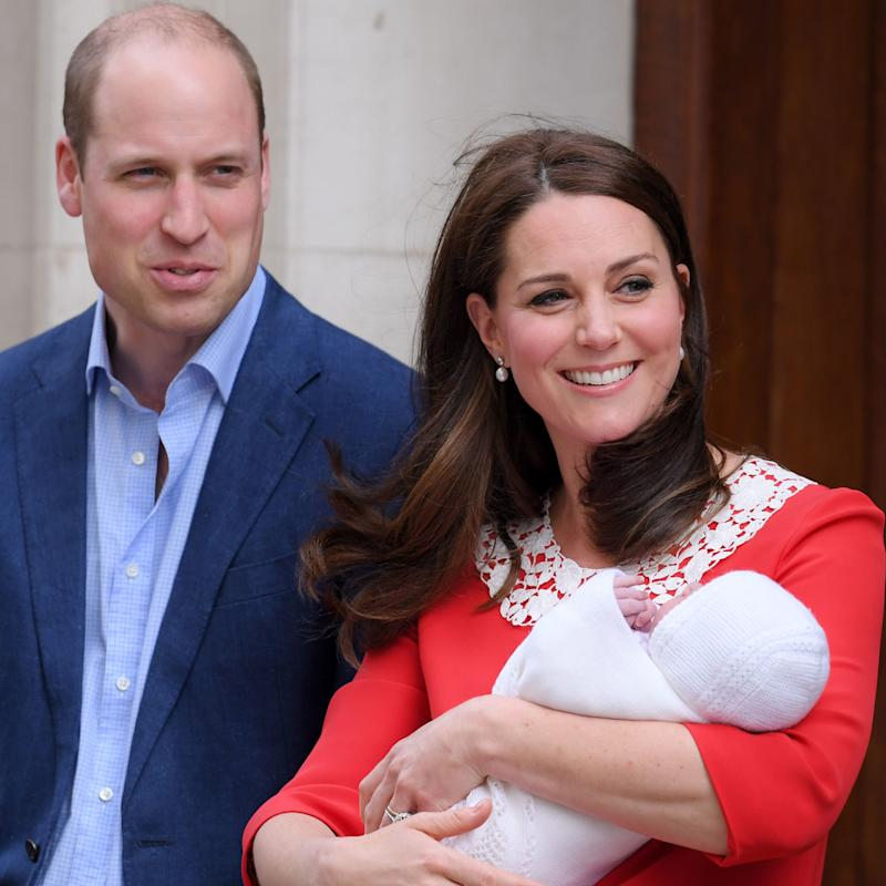 See William And Kate's First Family Photo With The New