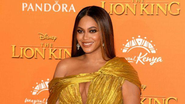 PHOTO: Beyonce Knowles-Carter attends the European Premiere of Disney's 'The Lion King' at Odeon Luxe Leicester Square, July 14, 2019, in London. (Gareth Cattermole/Getty Images, FILE)
