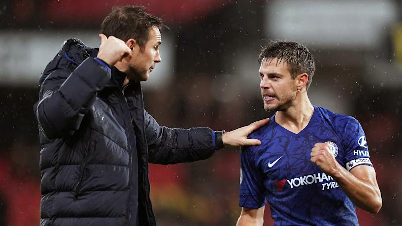 Frank Lampard feels Cesar Azpilicueta is pivotal after confirming him as captain