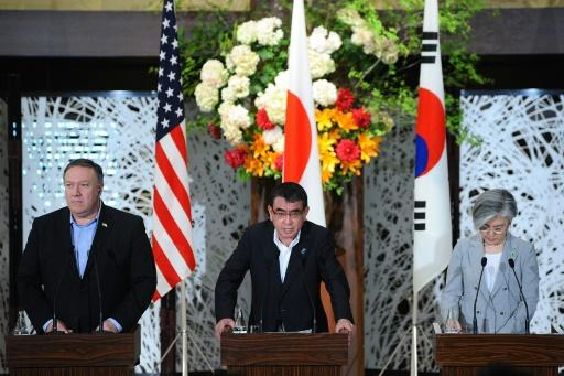 Pompeo briefed his Japanese and South Korean counterparts on the talks, and sought to reassure them that the dialogue with North Korea would continue