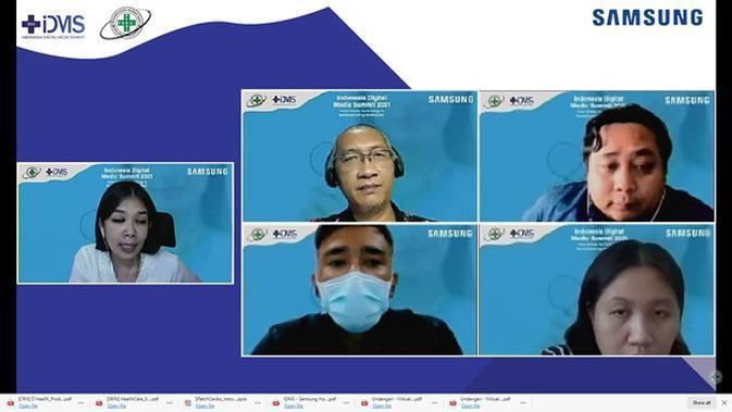 Pelatihan virtual Samsung Mobile Business Insight: How Mobile Technology Is Revolutionizing Healthcare. (dok. Samsung)