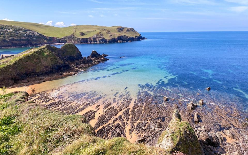 The view at Hope Cove - Emma Cooke