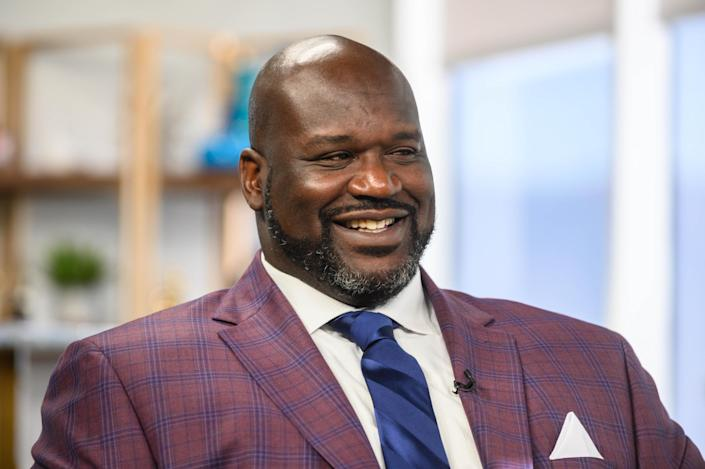 NBA legend Shaquille O'Neal says he hopes fans returning to NBA arenas is a