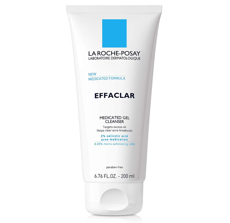 "<p><strong>La Roche-Posay</strong></p><p>laroche-posay.us</p><p><strong>$14.99</strong></p><p><a href=""https://go.redirectingat.com?id=74968X1596630&url=https%3A%2F%2Fwww.laroche-posay.us%2Fface-and-body-skin-care%2Fface-products%2Fface-wash%2Feffaclar-medicated-acne-face-wash-883140040231.html&sref=https%3A%2F%2Fwww.seventeen.com%2Fbeauty%2Fmakeup-skincare%2Fg16639536%2Fbest-face-wash-for-acne-prone-skin%2F"" target=""_blank"">Shop Now</a></p><p>The Effaclar Medicated Acne Face Wash was named ""Best Face Wash for Acne"" in <em><a href=""https://www.seventeen.com/beauty/makeup-skincare/a27354796/seventeen-beauty-awards/"" target=""_blank"">Seventeen</a></em><a href=""https://www.seventeen.com/beauty/makeup-skincare/a27354796/seventeen-beauty-awards/"" target=""_blank"">'s 2019 Beauty Awards</a>. Our panel of dermatologists chose it, because the gel includes salicylic acid that will clear both breakouts <em>and</em> blackheads.</p>"