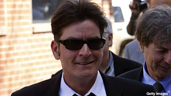 Charlie Sheen in L.A.