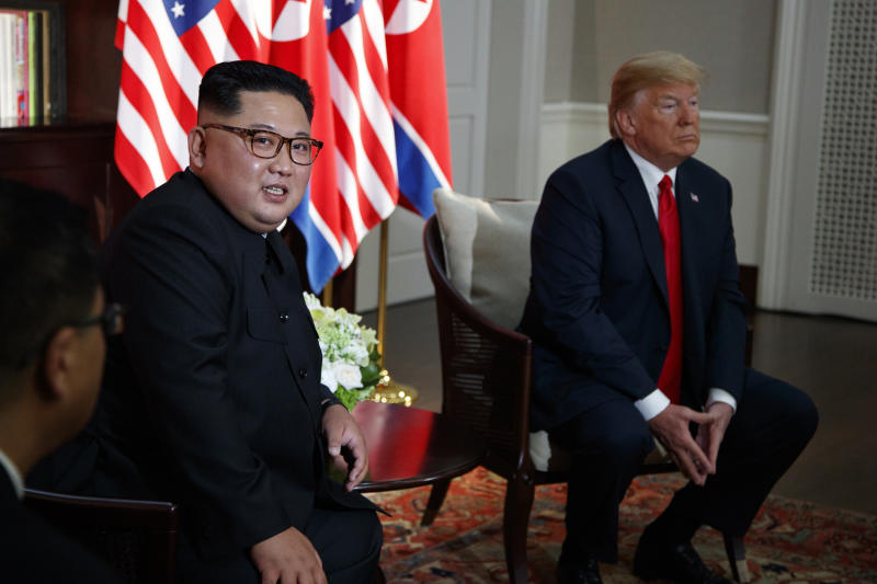 Alone time: Trump, Kim Jong Un ditch aides to meet 1 on 1