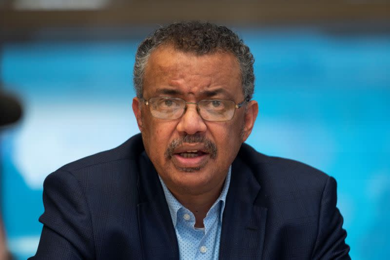 A news conference following the second meeting of the International Health Regulations (IHR) Emergency Committee for Pneumonia due to the Novel Coronavirus 2019-nCoV in Geneva