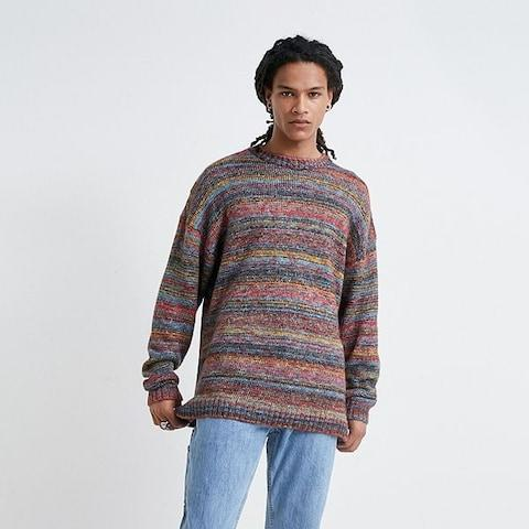 Urban OutfittersDark Ombre Stripe Jumper - Credit: Urban Outfitters