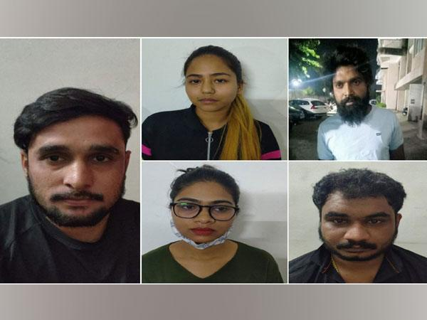 Five including two women held for IPL betting in Indore. Photo/ANI