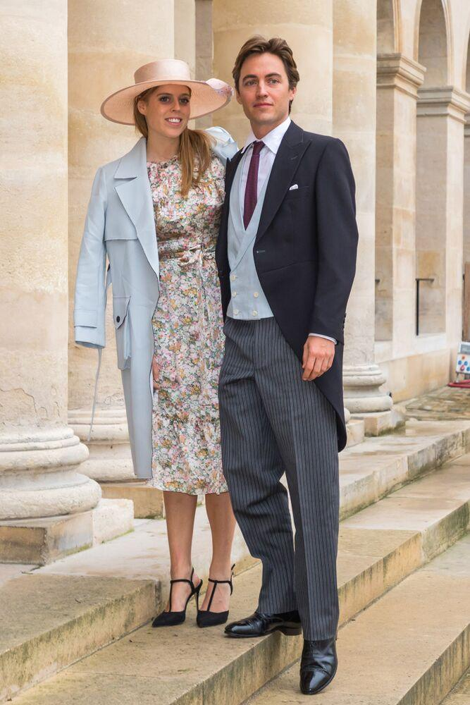 Princess Beatrice and Edoardo Mapelli Mozzi | CHRISTOPHE PETIT TESSON/EPA-EFE/Shutterstock
