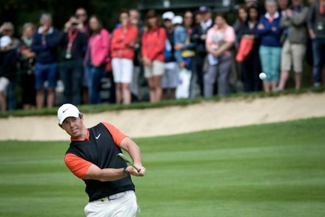 Rory McIlroy was named PGA Tour Player of the Year for the third time (AFP Photo/FABRICE COFFRINI)