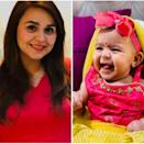 Kapil Sharma and wife Ginni had their first bundle of joy on December 2019. The couple avoids putting too many glimpses of their baby Anayra Sharma, but this giggle is too precious to be denied to his fans. May 10th, 2020 was Ginni's first Mother's Day as a mom.