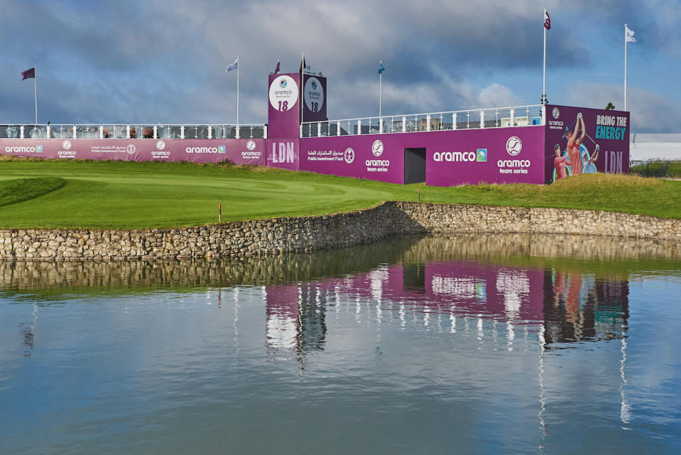 The Aramco Team Series London leg takes place at Centurion Club in Hertfordshire with $1million in prize money up for grabs