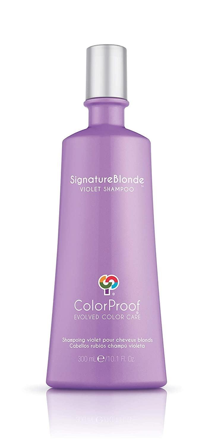 <p>The <span>ColorProof SignatureBlonde® Violet Shampoo</span> ($39) gives you a gentle cleanse while brightening and canceling out yellow tones in your hair. The color-safe formula is also cruelty-free and vegan.</p>