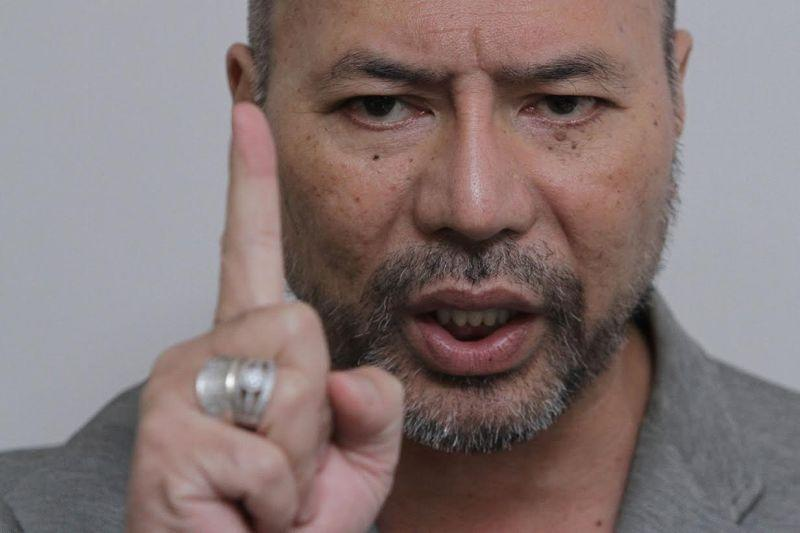 Datuk Seri Khairuddin Abu Hassan, who in the past was a member of Muhyiddin's Parti Pribumi Bersatu Malaysia and subsequently a member of Parti Amanah Negara, had last July withdrawn from Pakatan Harapan. — Picture by Yusof Mat Isa
