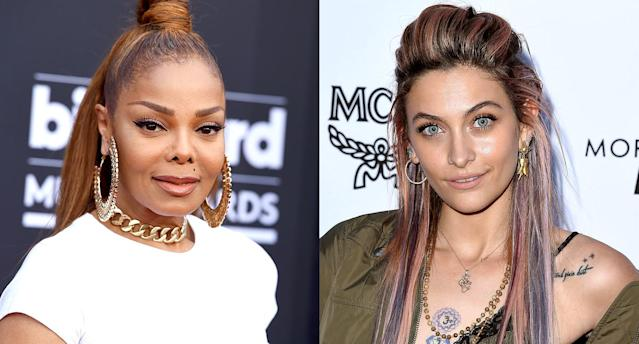 Janet Jackson and Paris Jackson (Photos: AP, Getty Images)