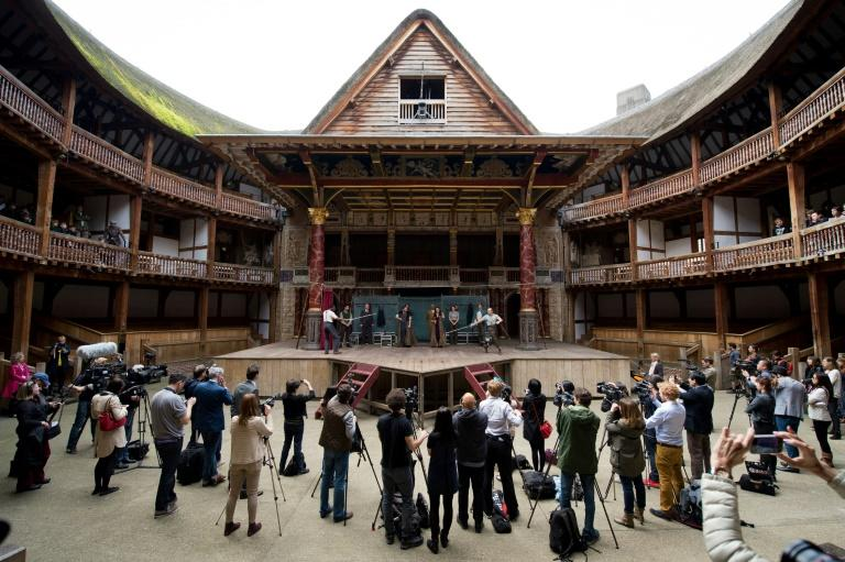 The open-air Globe Theatre is one of those suffering