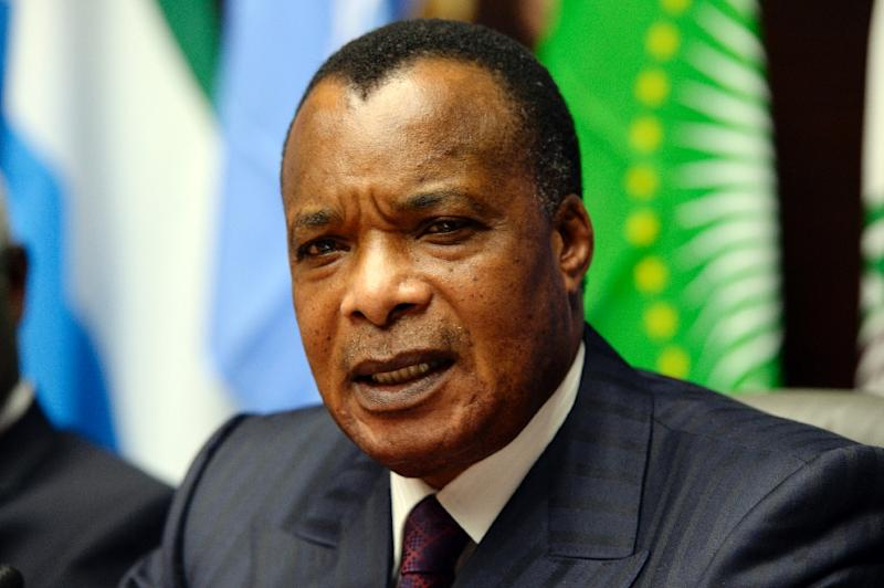 Congolese President Denis Sassou Nguesso has been in power since 1997 (AFP Photo/Thierry Charlier)