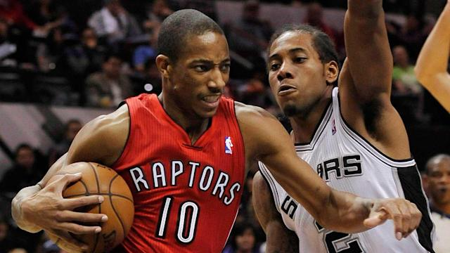 Basketball stars DeMar DeRozan and Kawhi Leonard were traded as part of a deal between Toronto and San Antonio, shocking players around the NBA and Raptors fans.