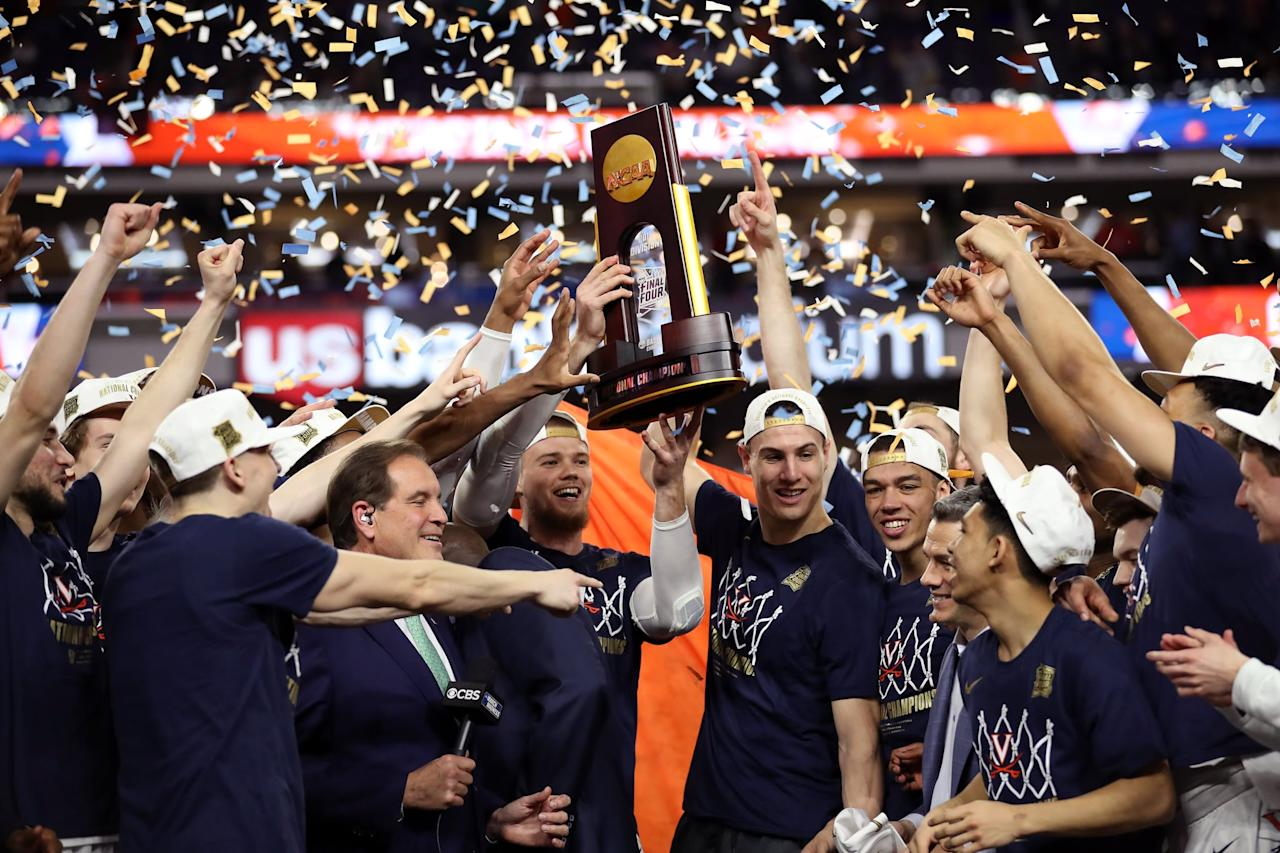 <p>In the 2018 tournament, the Virginia Cavaliers had an embarrassing showing: as the No. 1 seed, the team dropped to No. 16 UMBC in the first round. That disappointment made their 2019 victory even sweeter, as it gave them the opportunity to prove themselves on the biggest stage in college basketball.</p>