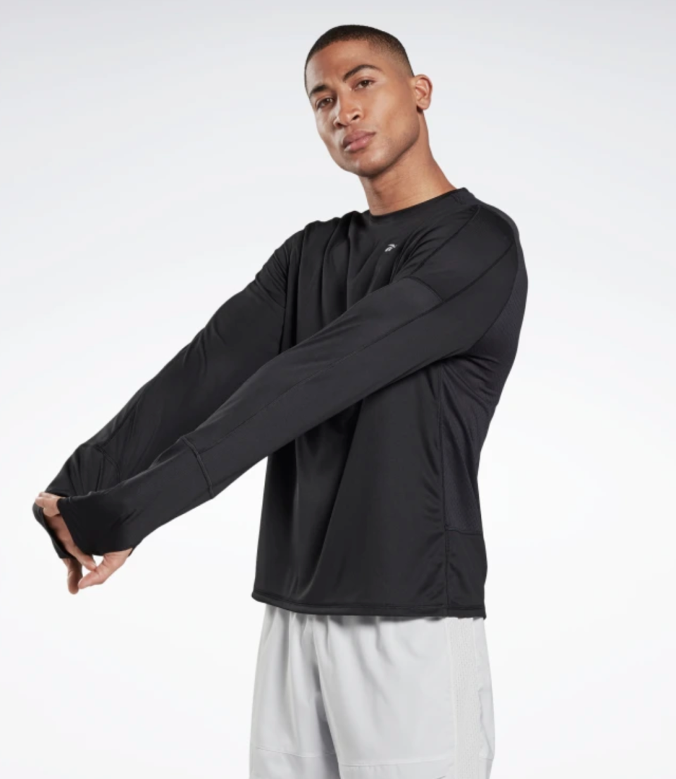 Running Essentials Long Sleeve Shirt - Reebok.