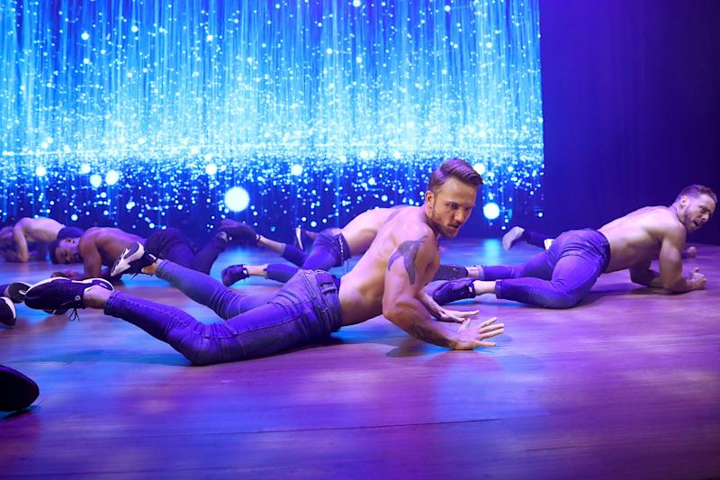 Magic Mike Live dancers perform in Melbourne