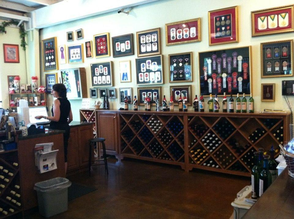 "<p><a href=""https://foursquare.com/v/georgia-winery/4c8266a0d4e2370455bd6688"" rel=""nofollow noopener"" target=""_blank"" data-ylk=""slk:Georgia Winery"" class=""link rapid-noclick-resp"">Georgia Winery</a> in Ringgold</p><p>""Concord is their best seller for a reason — it's amazing! Buy the mulling spices to go with it in the fall, and the <span class=""entity tip_taste_match"">slushie</span> mix in the summer!<span class=""redactor-invisible-space"">"" - Foursquare user <a href=""https://foursquare.com/paintedclouds"" rel=""nofollow noopener"" target=""_blank"" data-ylk=""slk:Nicole Spaller"" class=""link rapid-noclick-resp"">Nicole Spaller</a></span></p>"
