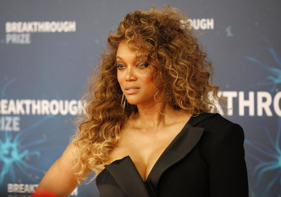 """Tyra Banks has acknowledged the """"insensitivity"""" of some classic """"American's Next Top Model"""" moments. (Photo: Liu Guanguan/China News Service/VCG via Getty Images)"""