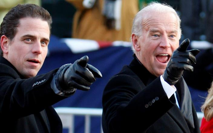 Hunter Biden, son of former US vice president and Democratic presidential hopeful Joe Biden, previously served on Burisma's board. - REUTERS