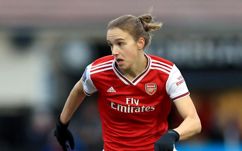 Vivianne Miedema - Arsenal's Vivianne Miedema named as Football Writers' Association Women's Footballer of the Year - PA