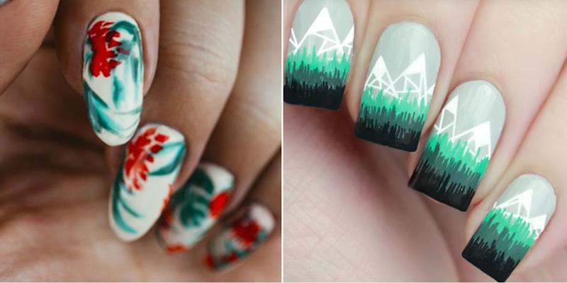 30 Festive And Bright Nail Art Ideas For The Holidays