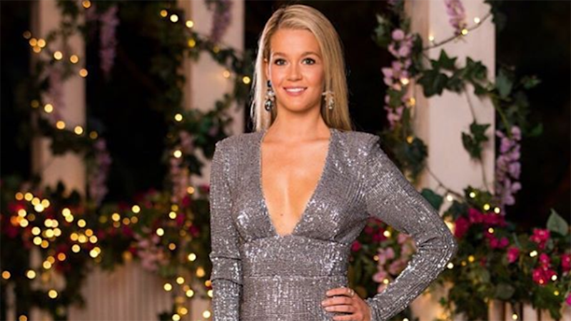 The Bachelor Australia star Helena Sauzier is a former Miss World Australia contestant. Photo: Channel Ten