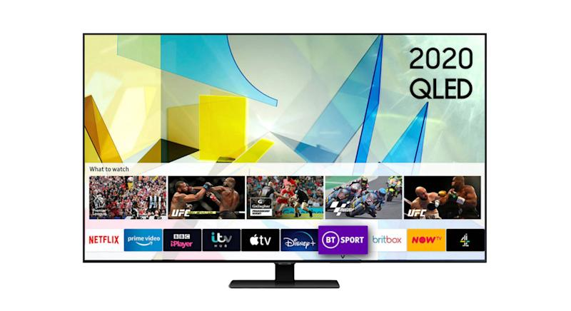 Samsung QE55Q80T (2020) QLED HDR 1500 4K Ultra HD Smart TV