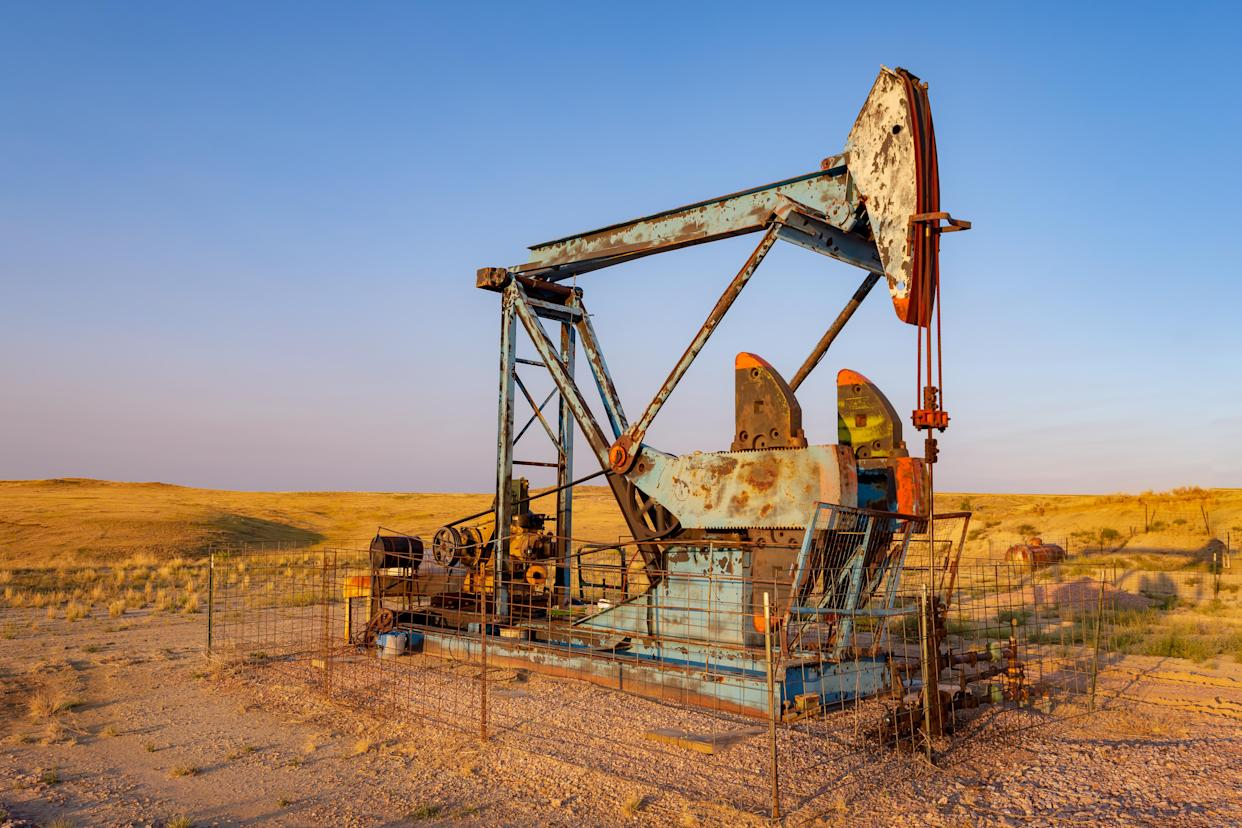 A rise in the dollar index following the release of the US Federal Reserve's meeting minutes has added to the pressure on oil. Photo: Getty Images
