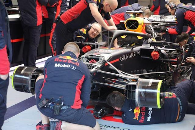 """Red Bull Racing RB16, front <span class=""""copyright"""">Giorgio Piola</span>"""